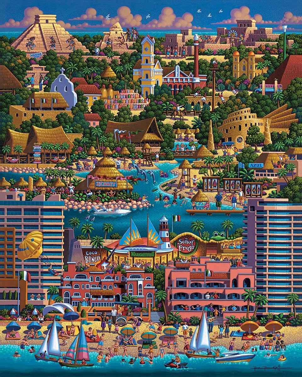 Cancun Beach Jigsaw Puzzle