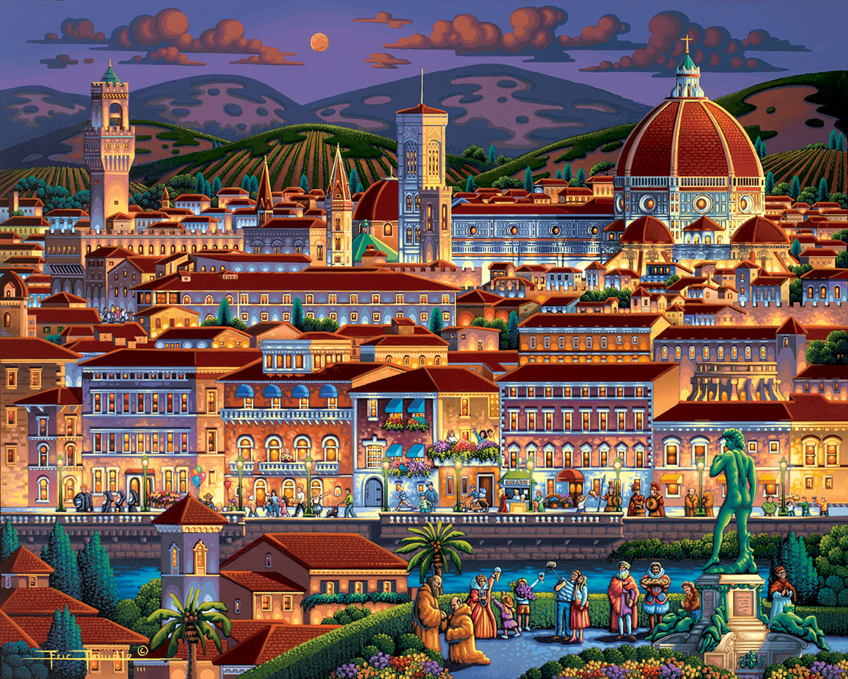Florence Italy Jigsaw Puzzle