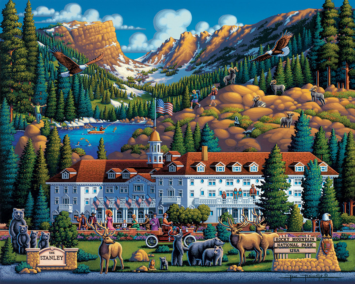 Rocky Mountain National Park Mountains Jigsaw Puzzle