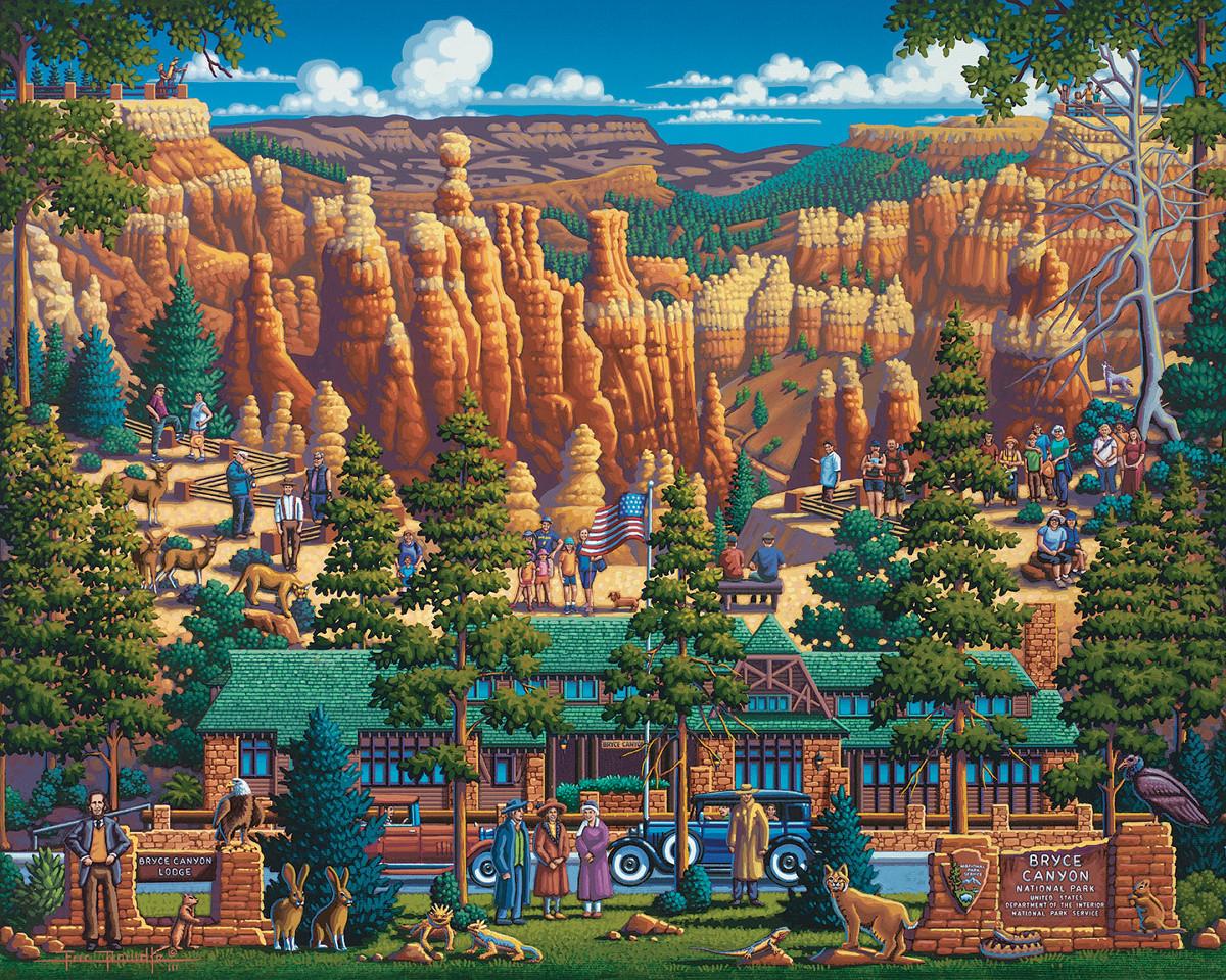 Bryce Canyon National Park Landscape Jigsaw Puzzle
