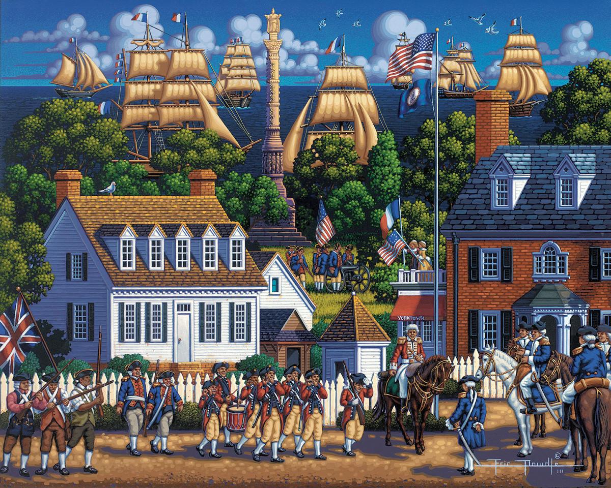 Yorktown National Historic Park Patriotic Jigsaw Puzzle