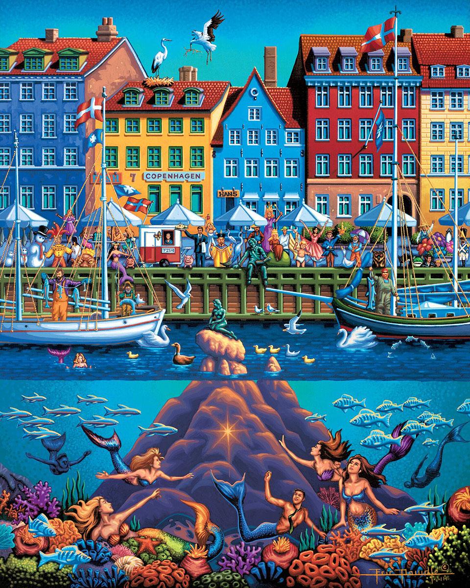 Copenhagen Americana & Folk Art Jigsaw Puzzle