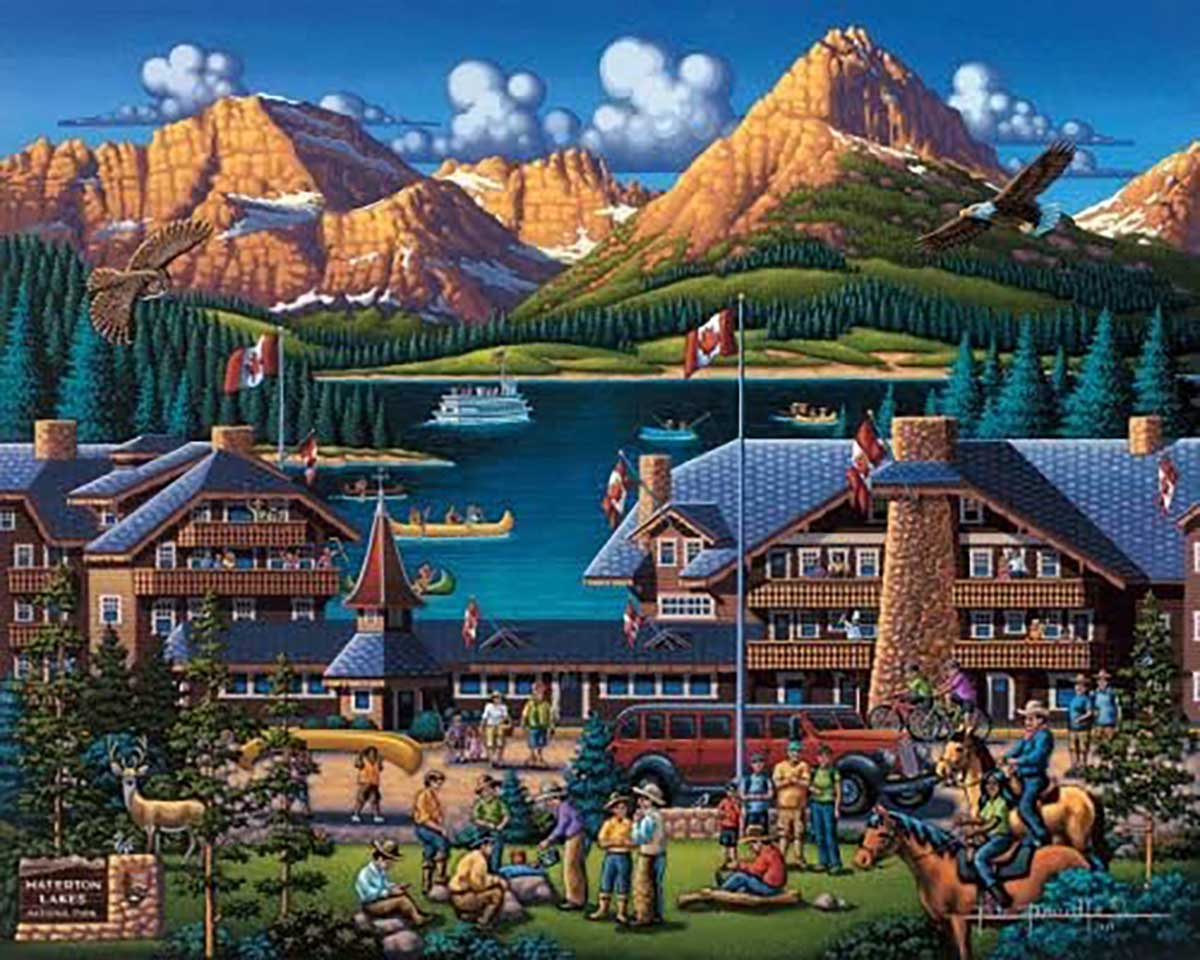 Waterton Lakes Canada Jigsaw Puzzle