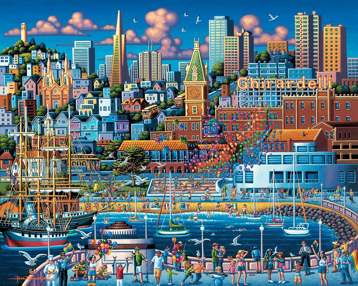 San Francisco Pier San Francisco Jigsaw Puzzle