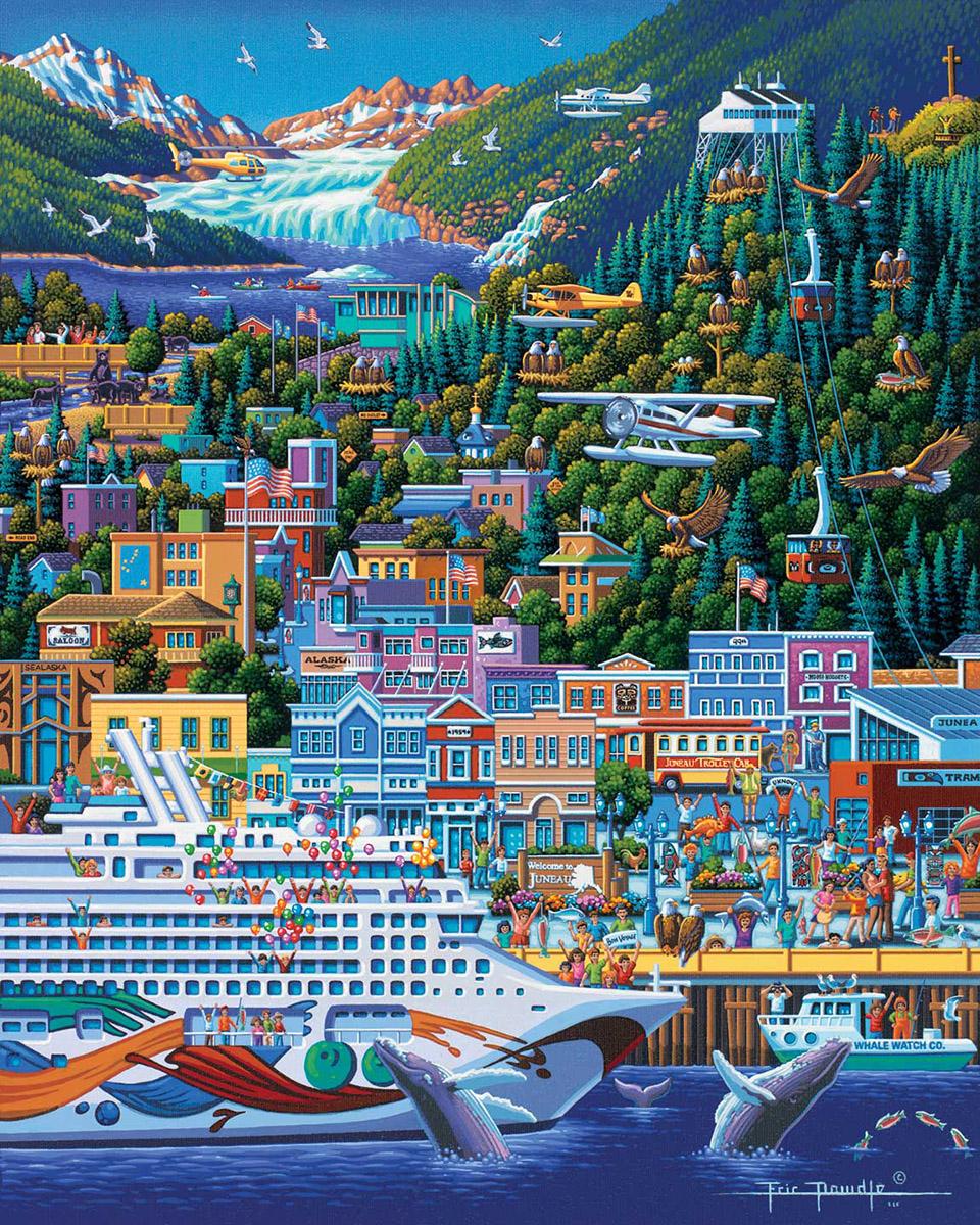 Juneau Americana & Folk Art Jigsaw Puzzle