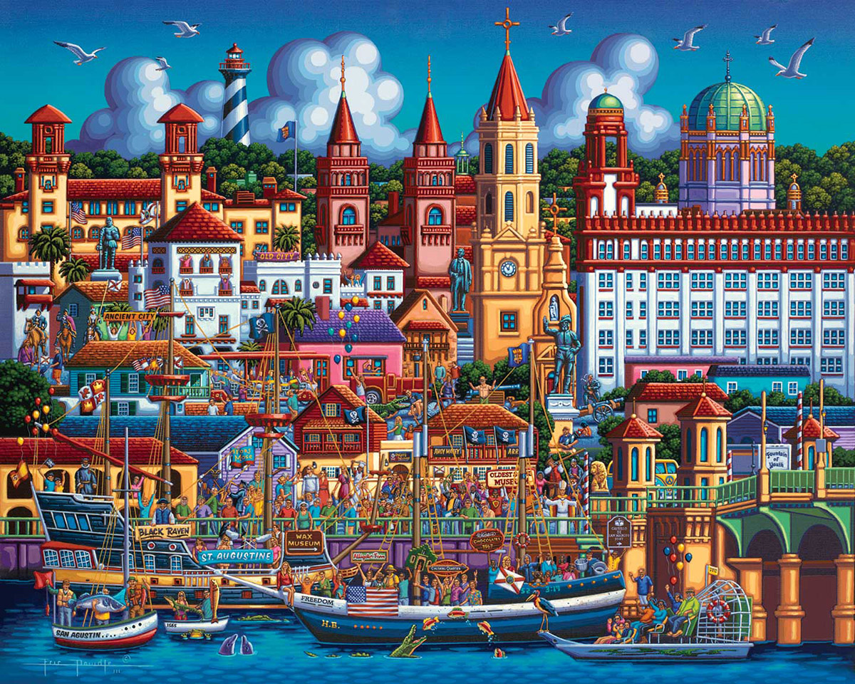 St. Augustine Travel Jigsaw Puzzle