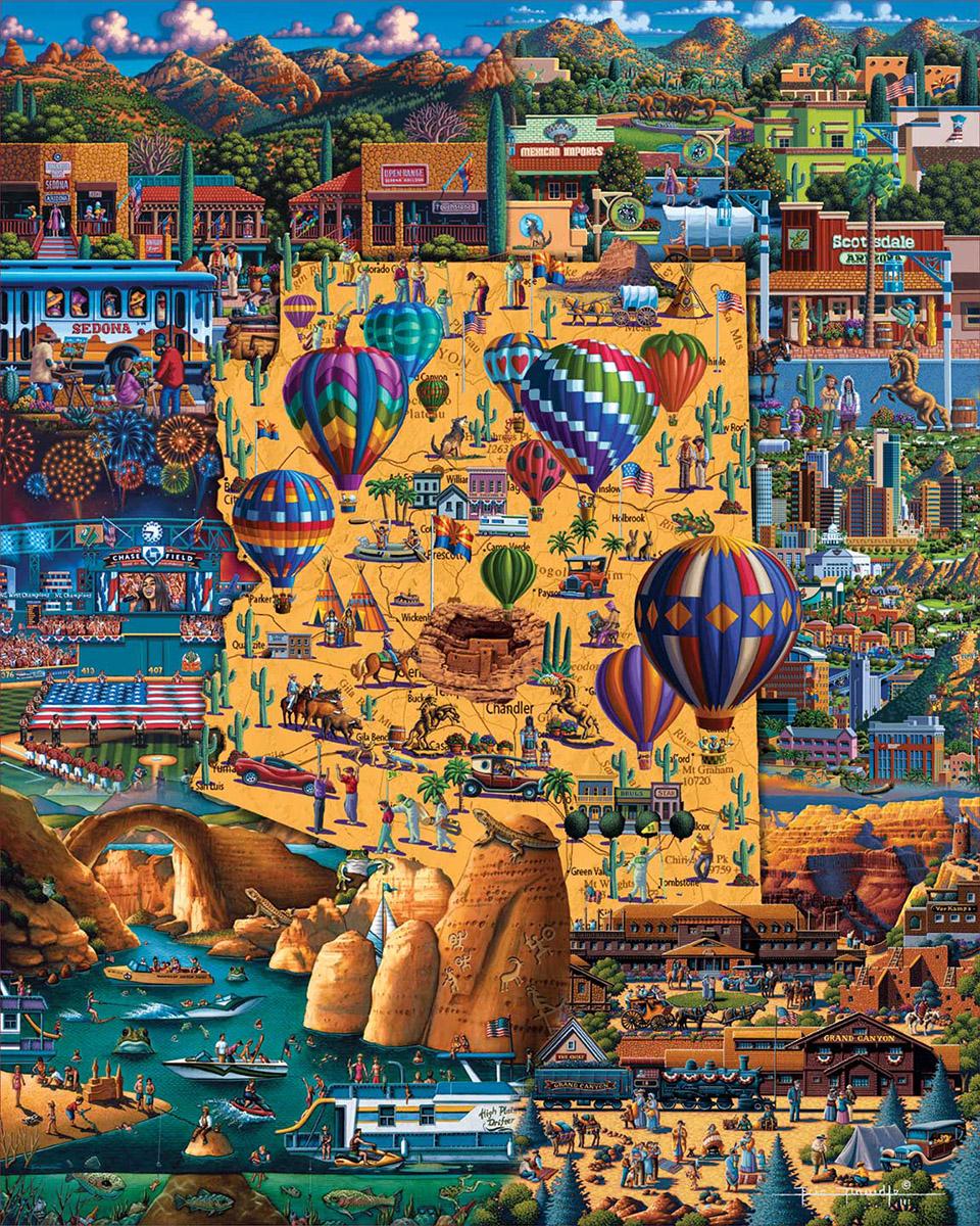 Best of Arizona Americana & Folk Art Jigsaw Puzzle