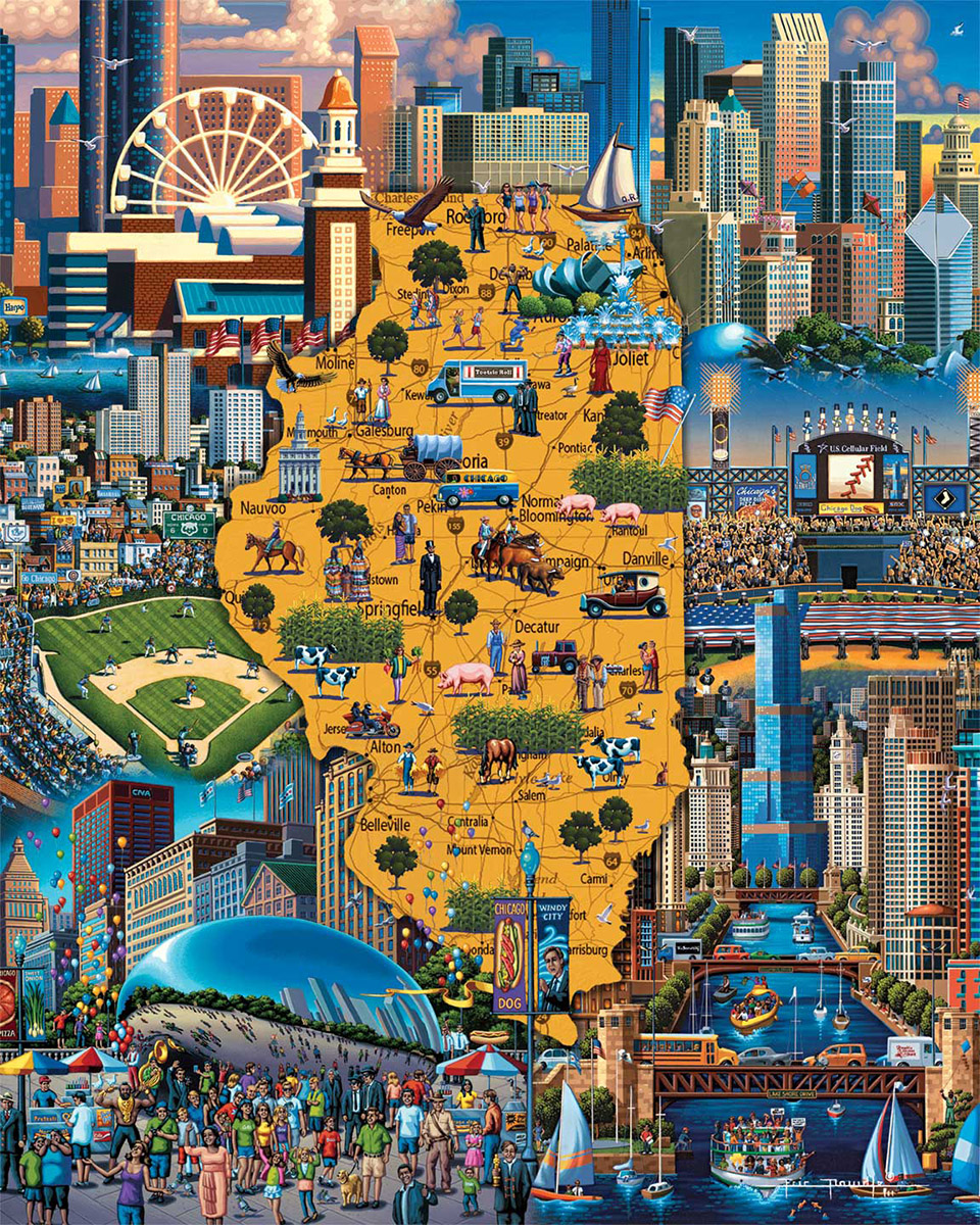 Best of Chicago Chicago Jigsaw Puzzle