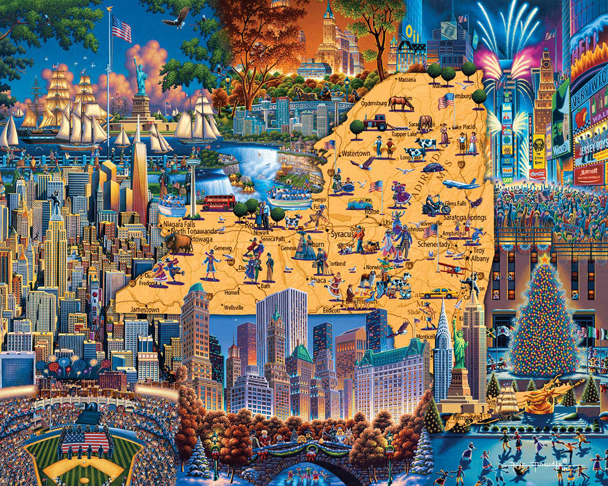 Best of New York New York Jigsaw Puzzle
