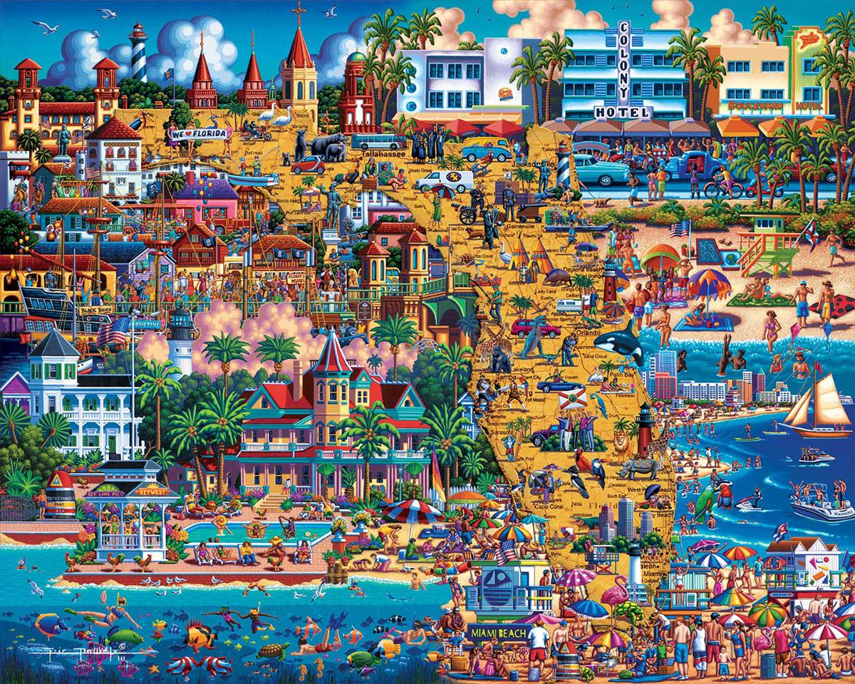 Best of Florida Americana & Folk Art Jigsaw Puzzle