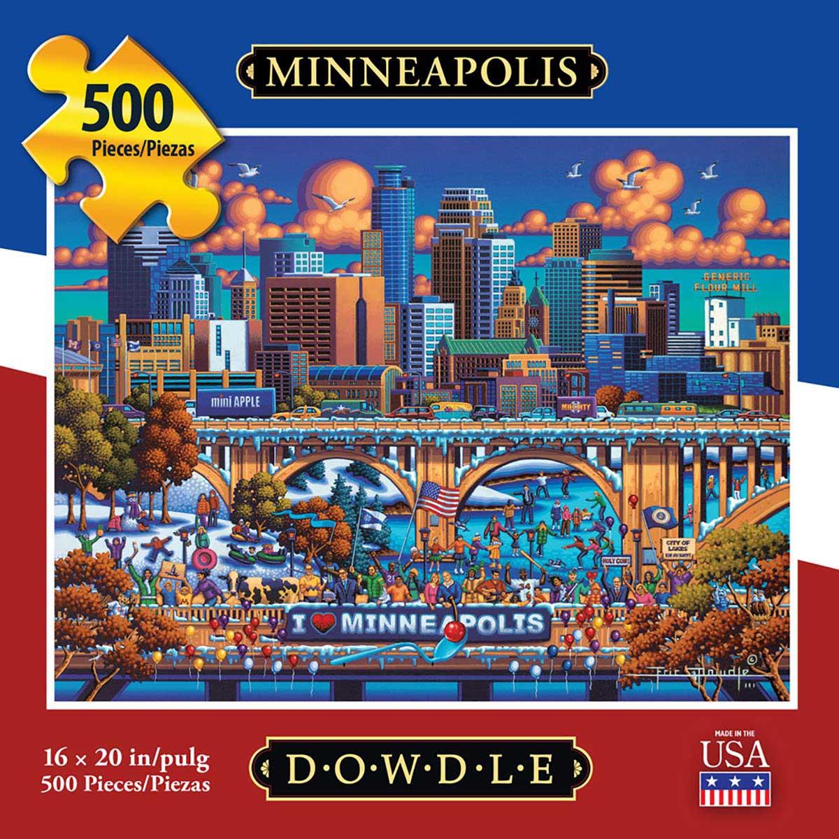 Minneapolis Winter Jigsaw Puzzle