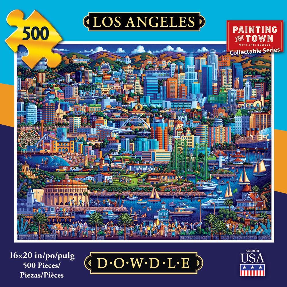 Los Angeles Americana & Folk Art Jigsaw Puzzle