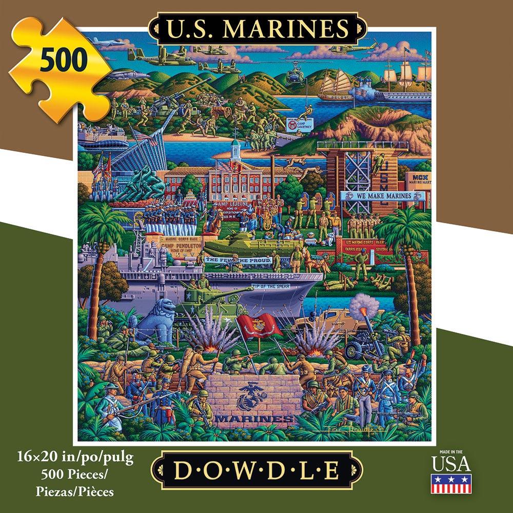 U.S. Marines Military / Warfare Jigsaw Puzzle
