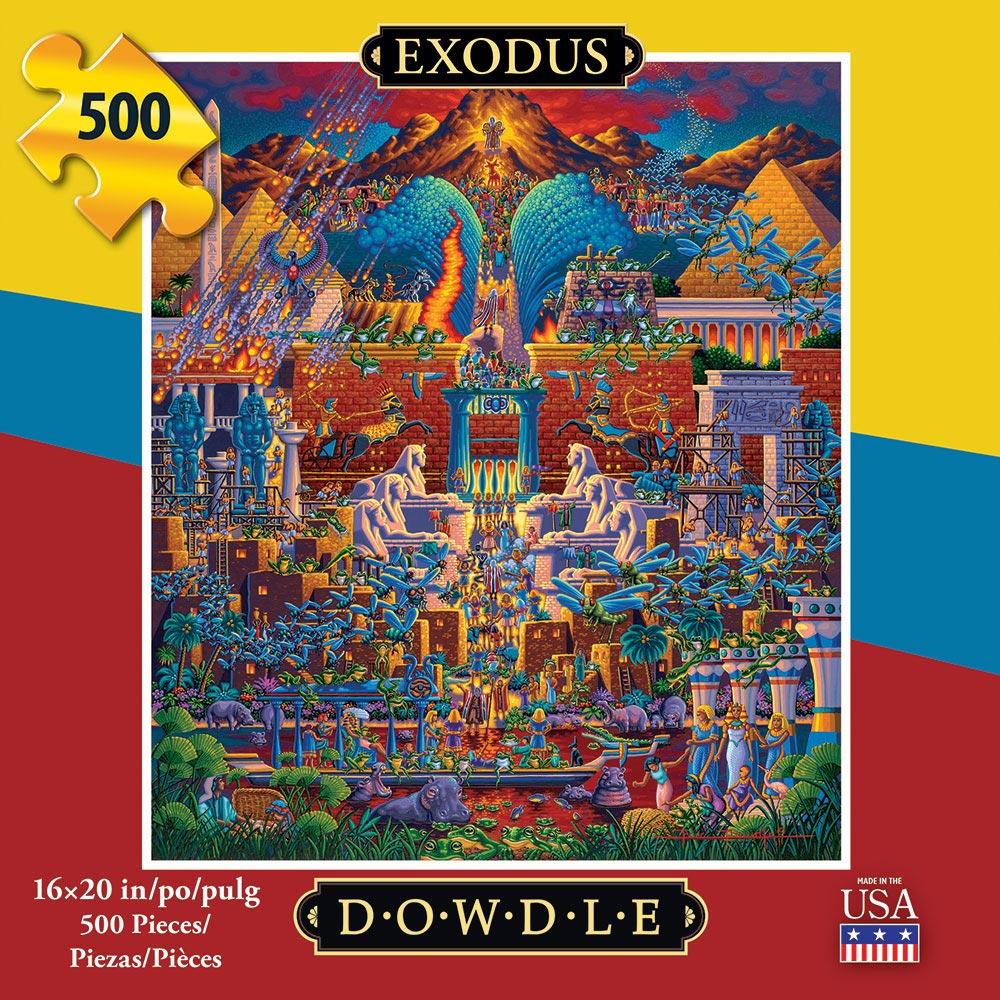 Exodus Americana & Folk Art Jigsaw Puzzle