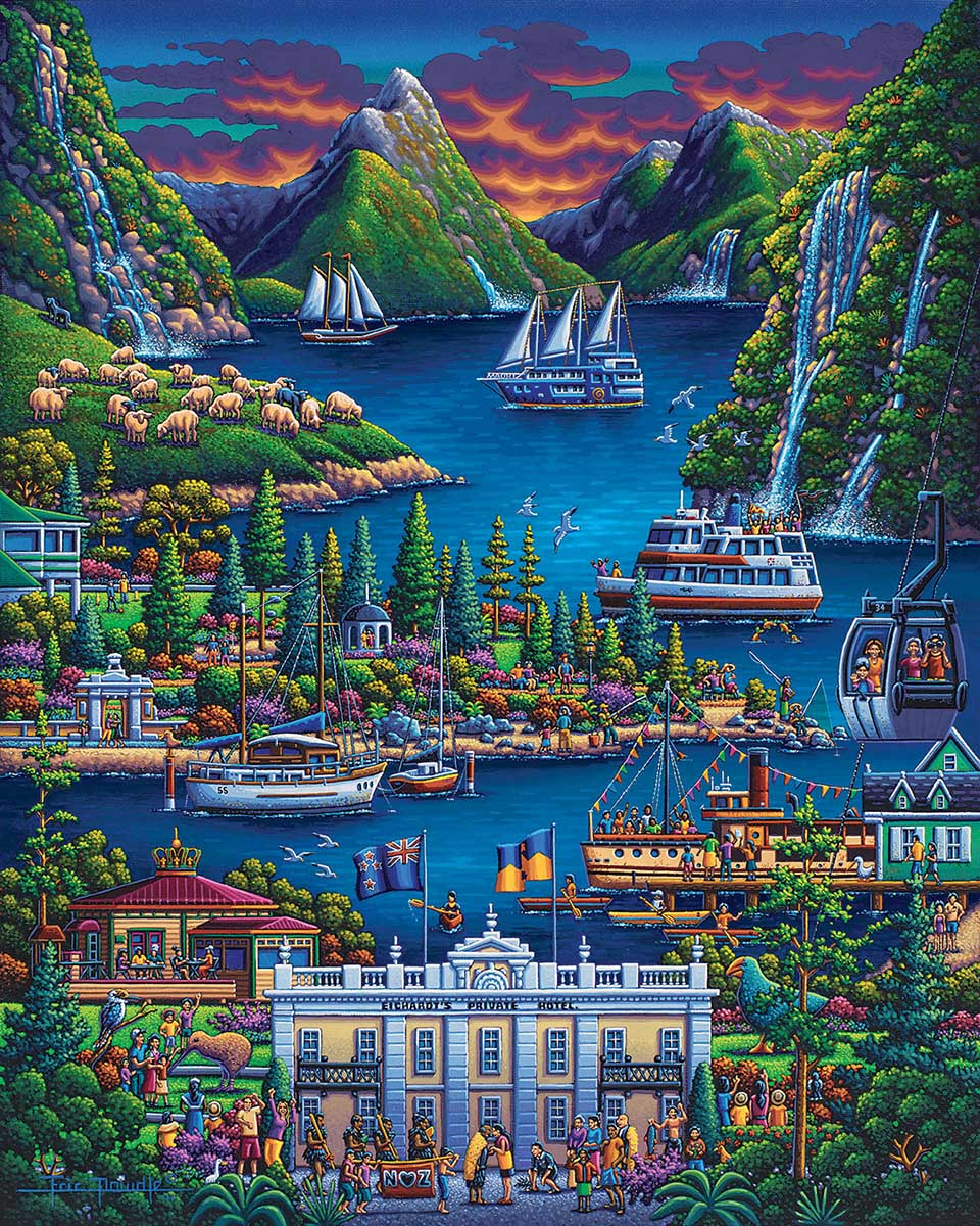 New Zealand South Travel Jigsaw Puzzle