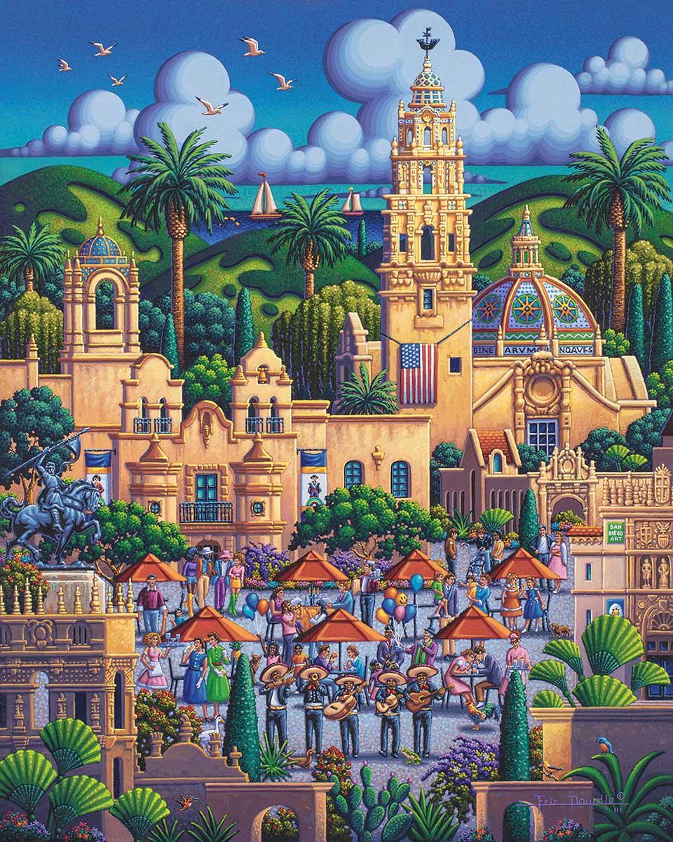 San Diego's Balboa Park Jigsaw Puzzle