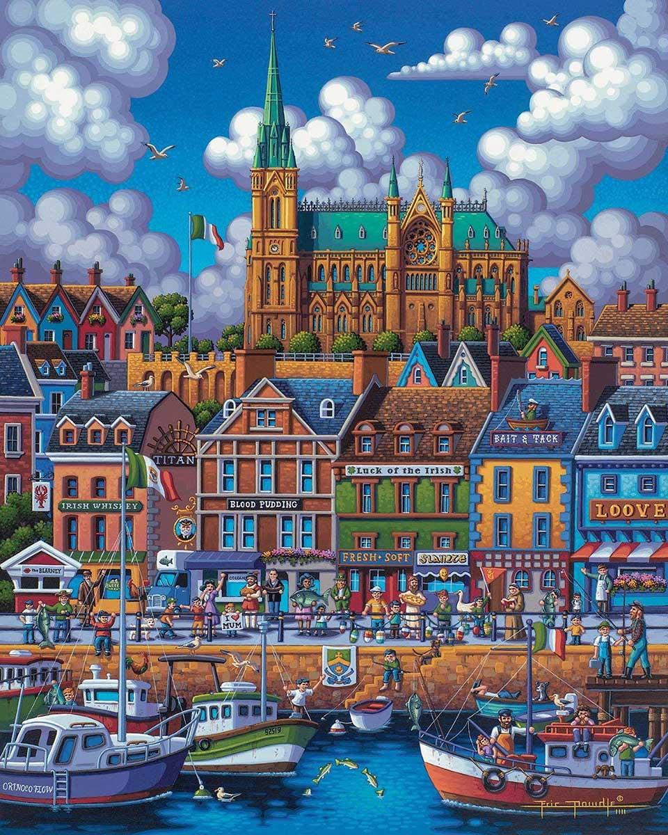 Cobh Ireland Ireland Jigsaw Puzzle