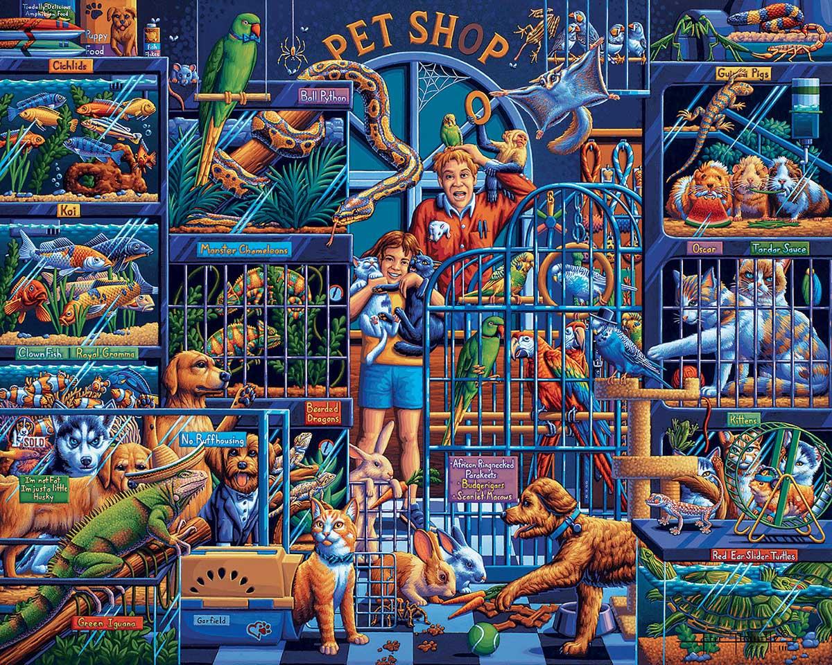 Pet Shop Animals Jigsaw Puzzle