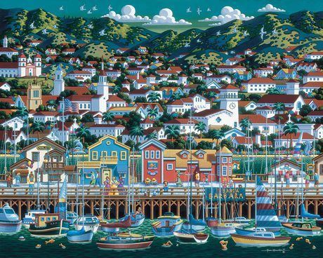 Santa Barbara Travel Jigsaw Puzzle