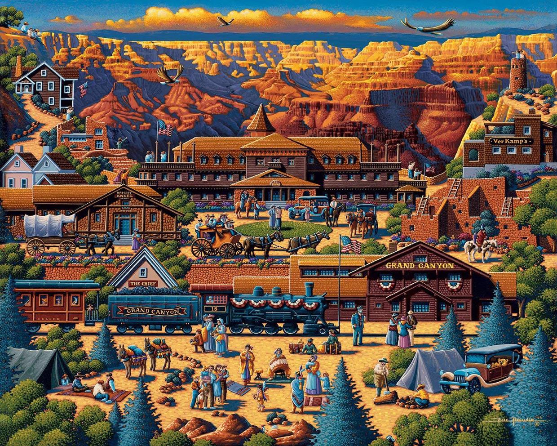 Grand Canyon Grand Canyon Jigsaw Puzzle