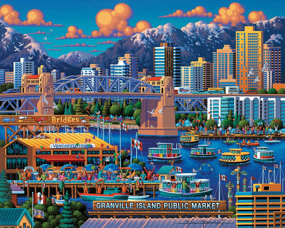 Granville Island Americana & Folk Art Jigsaw Puzzle