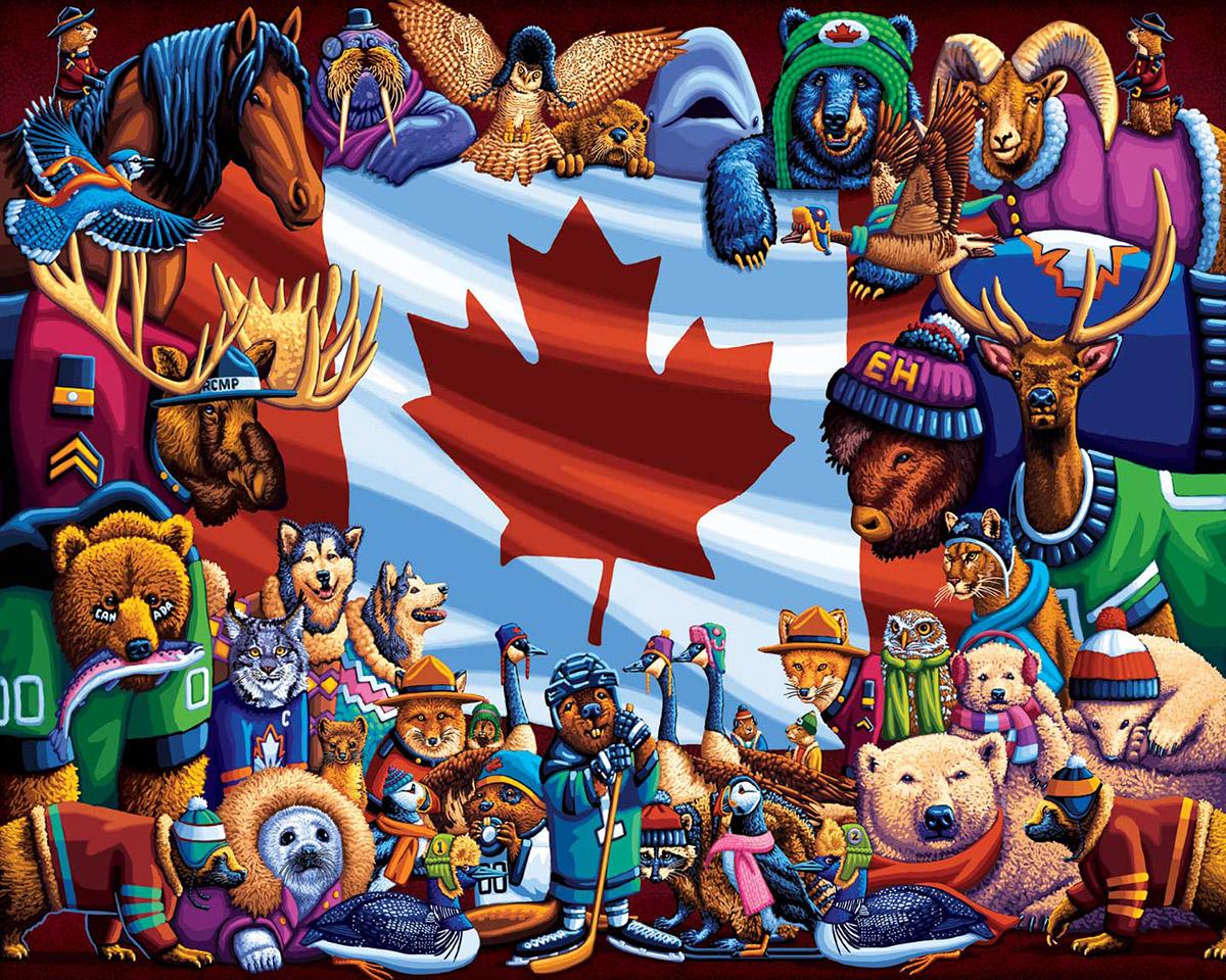 Animals of Canada Animals Jigsaw Puzzle