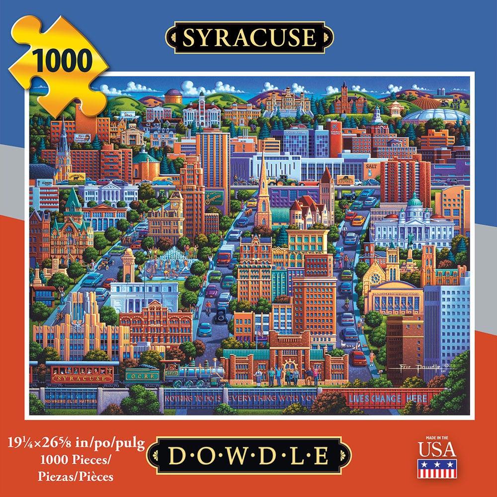 Syracuse Americana & Folk Art Jigsaw Puzzle