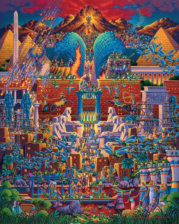 Exodus Religious Jigsaw Puzzle