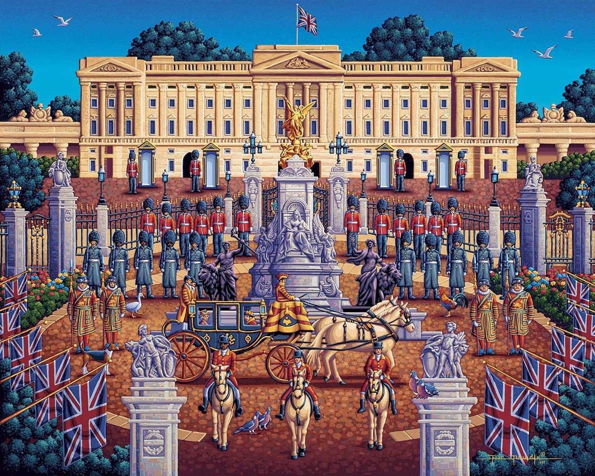 Buckingham Palace - Scratch and Dent Landmarks / Monuments Jigsaw Puzzle