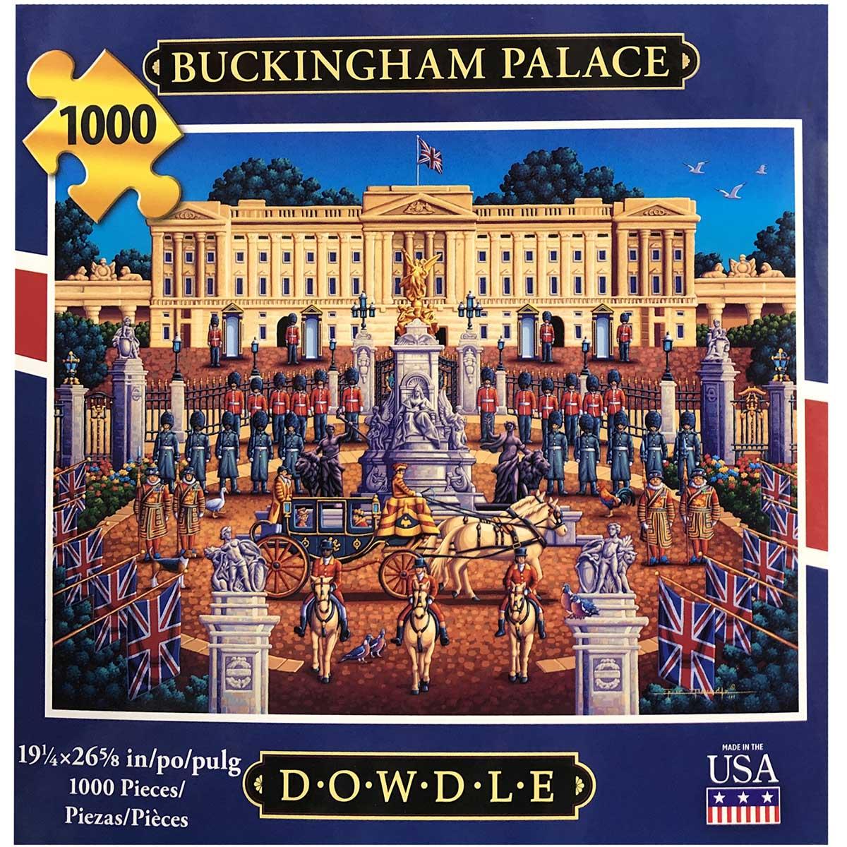 Buckingham Palace Landmarks / Monuments Jigsaw Puzzle