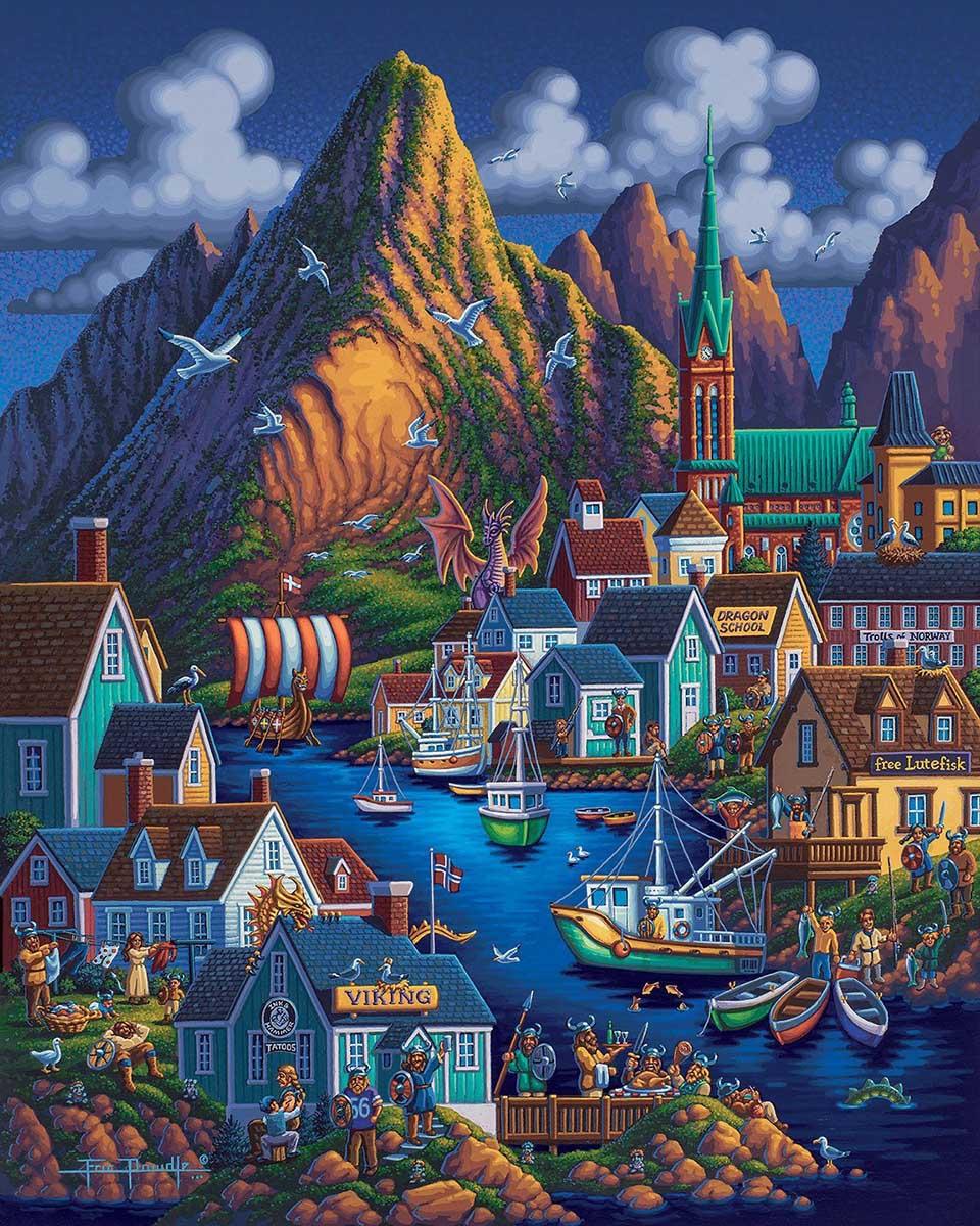 Norway Europe Jigsaw Puzzle