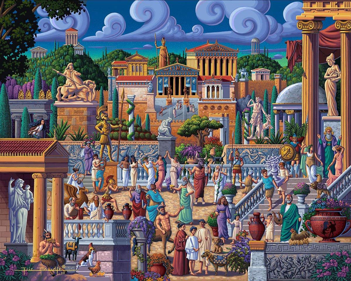 Greece History Jigsaw Puzzle