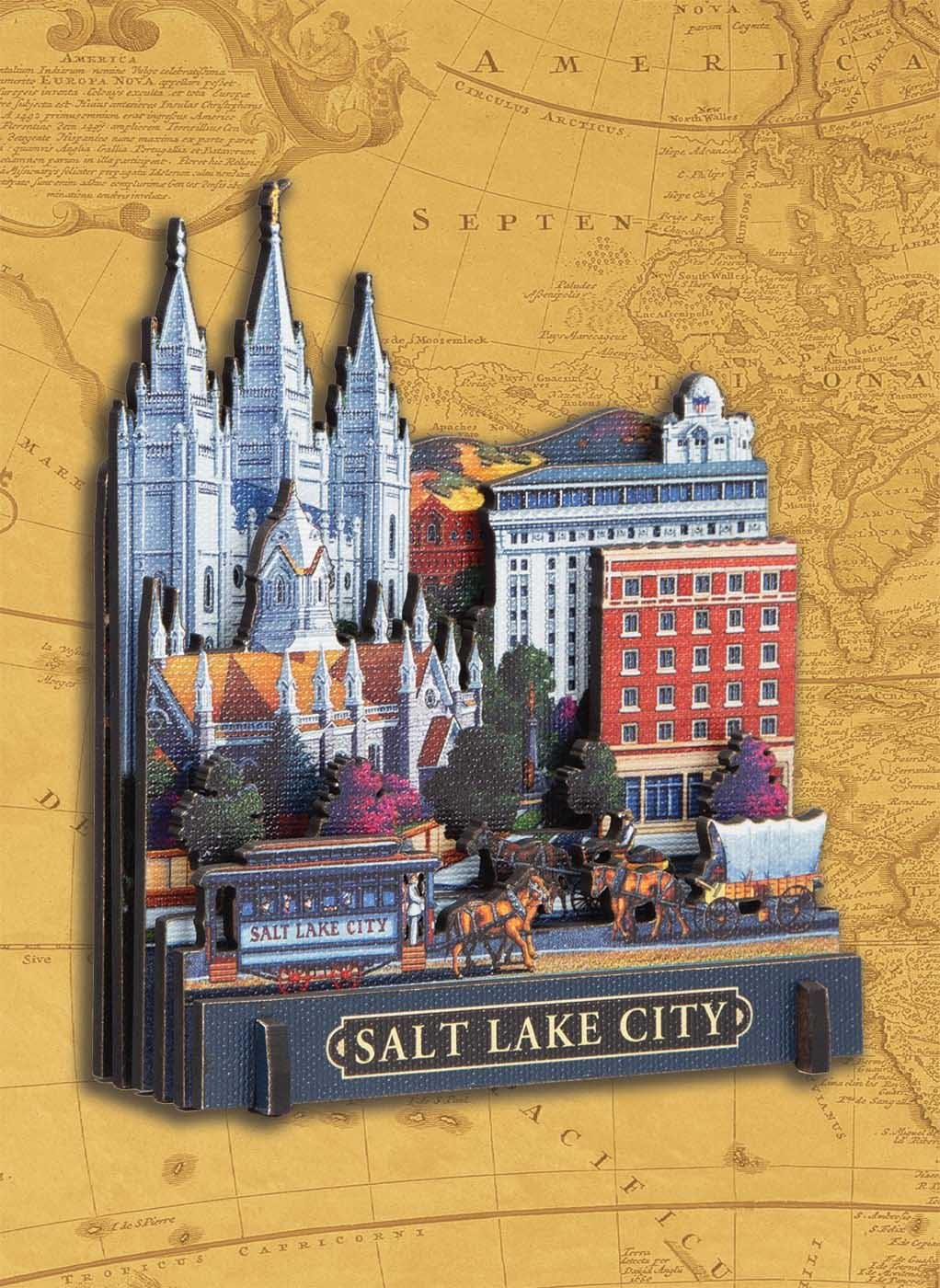 Salt Lake City Cities 3D Puzzle