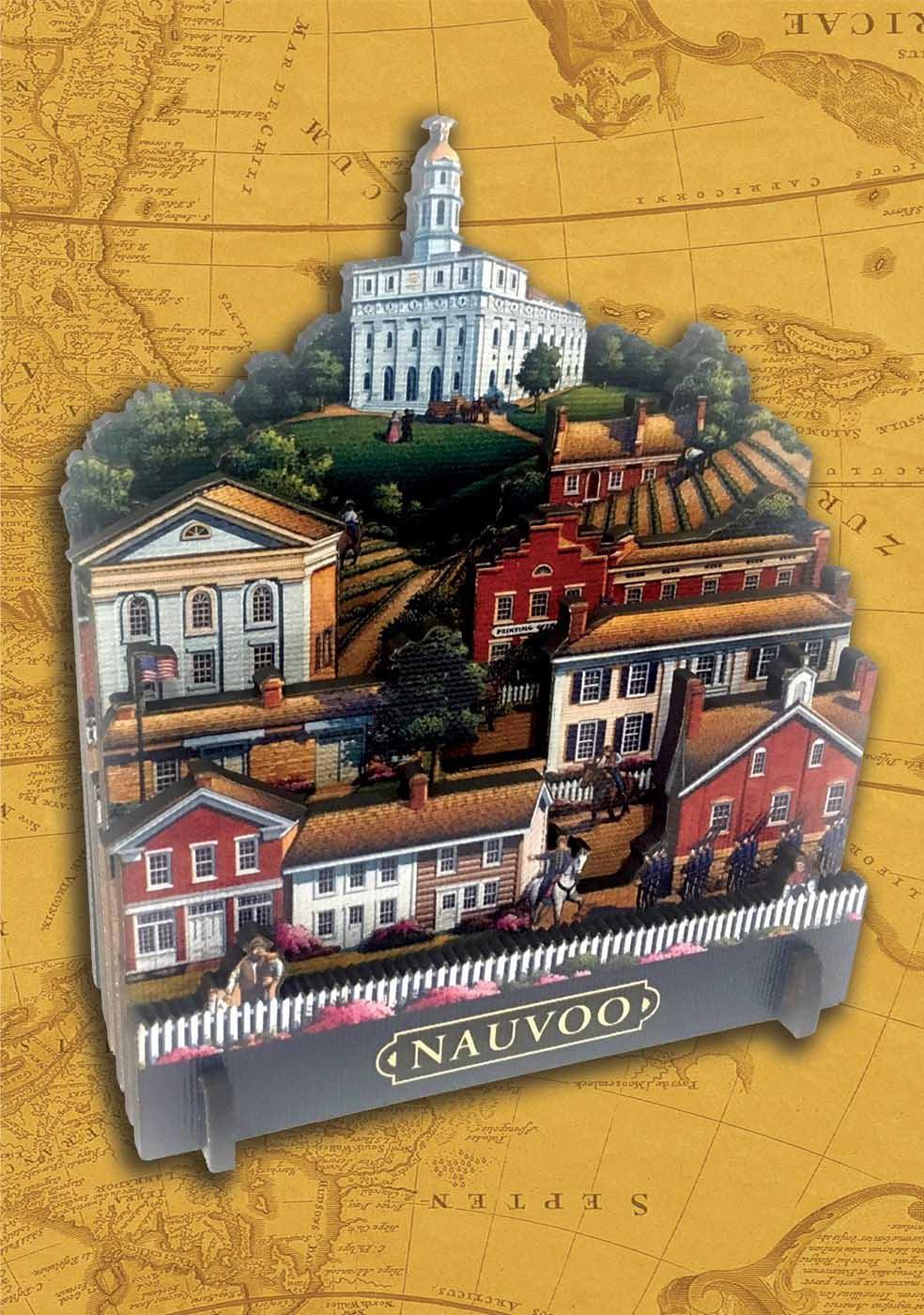 Nauvoo Americana & Folk Art 3D Puzzle