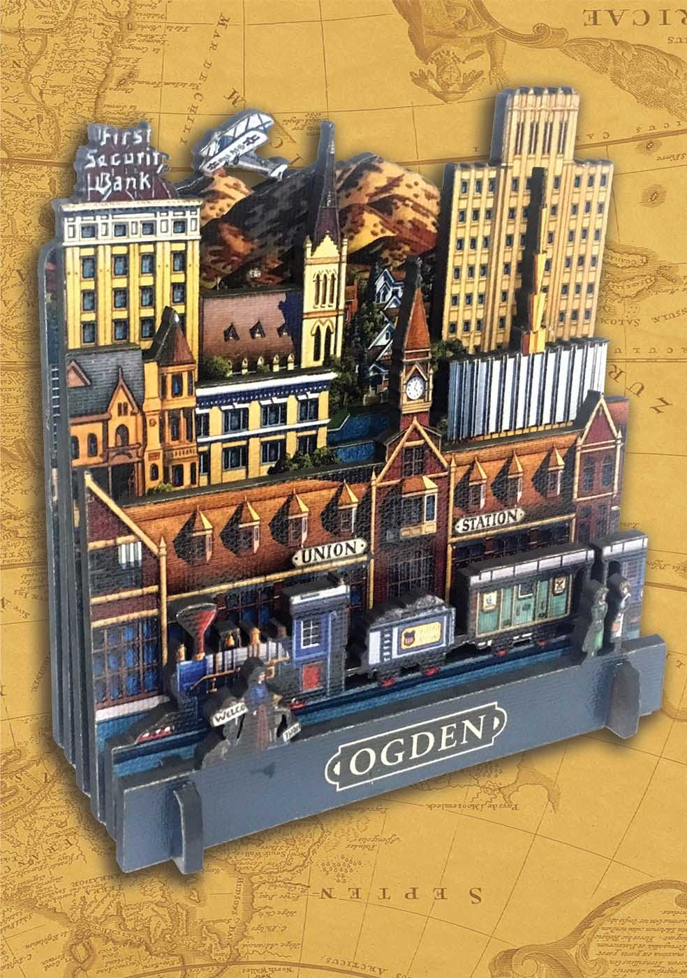 Ogden Cities 3D Puzzle