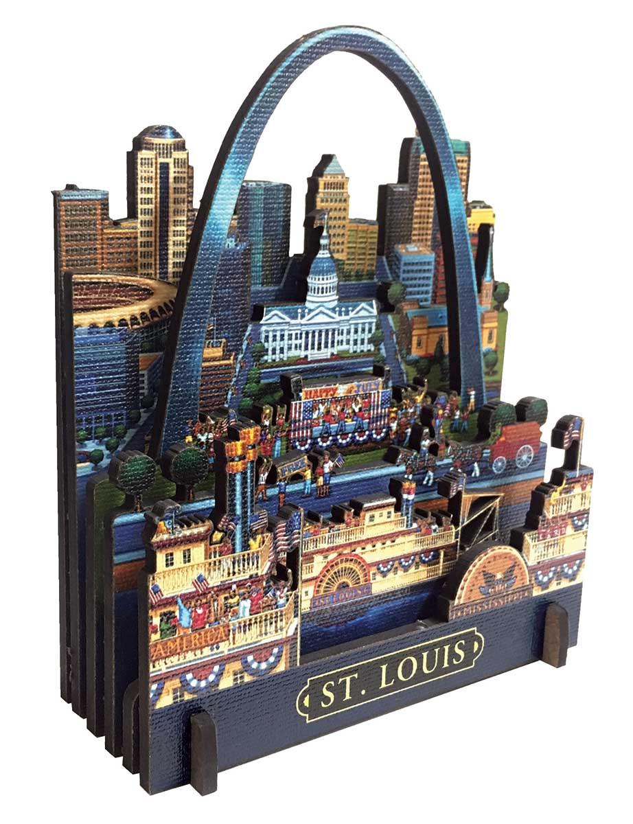 St. Louis St. Louis 3D Puzzle