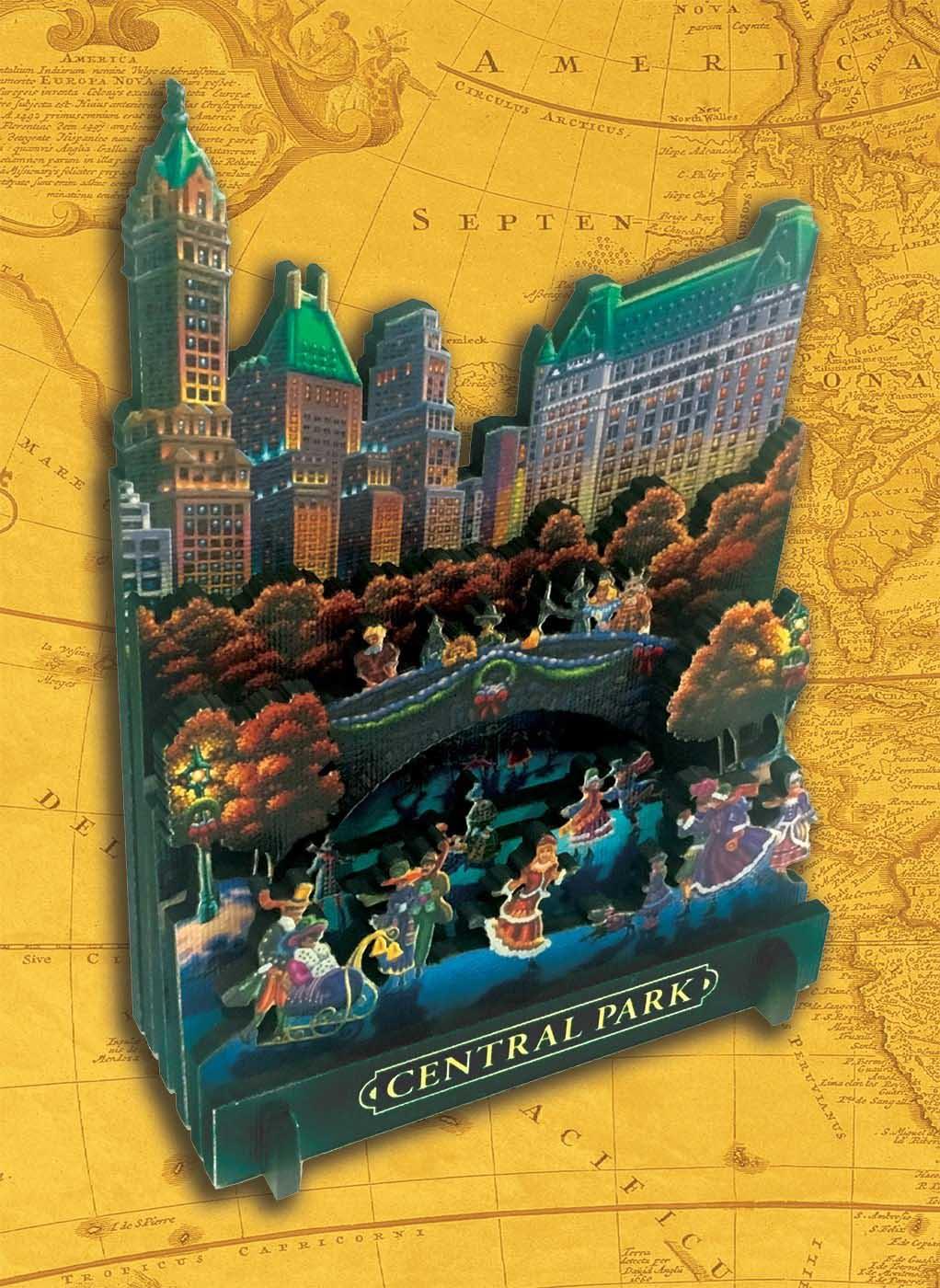 Central Park National Parks 3D Puzzle