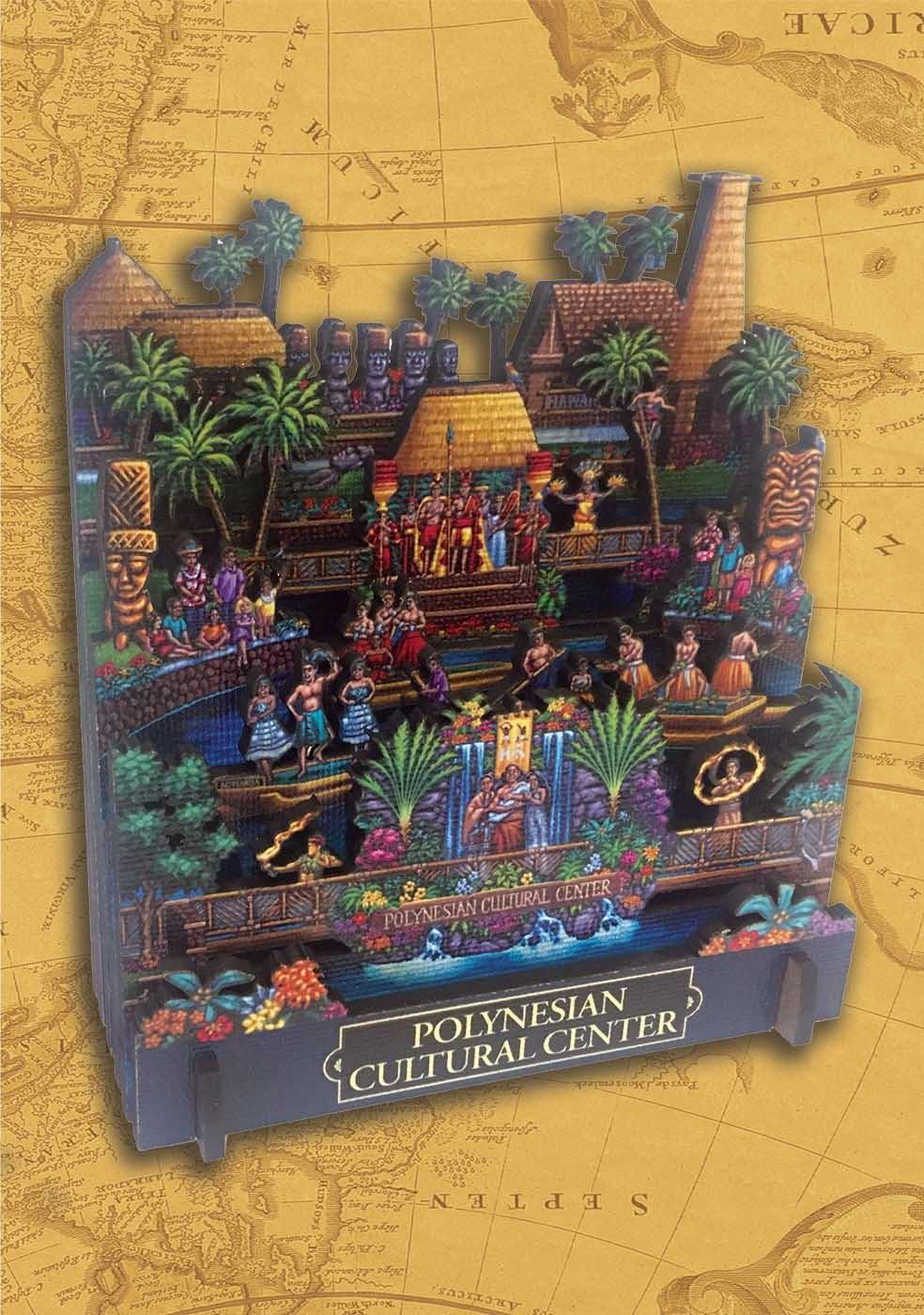 Polynesian Cultural Center Cultural Art 3D Puzzle