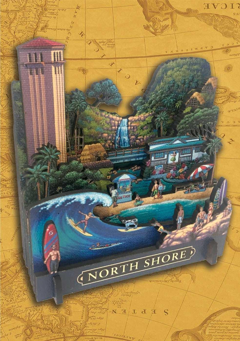 North Shore Beach 3D Puzzle