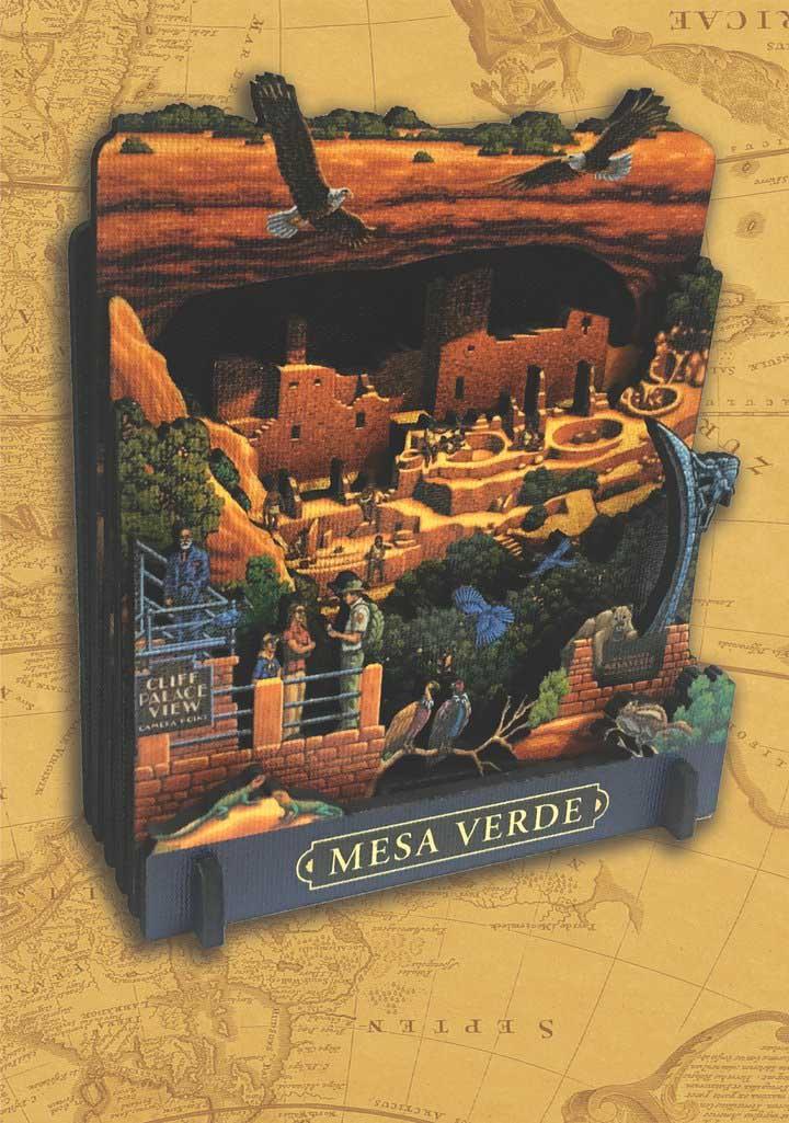 Mesa Verde National Park National Parks 3D Puzzle