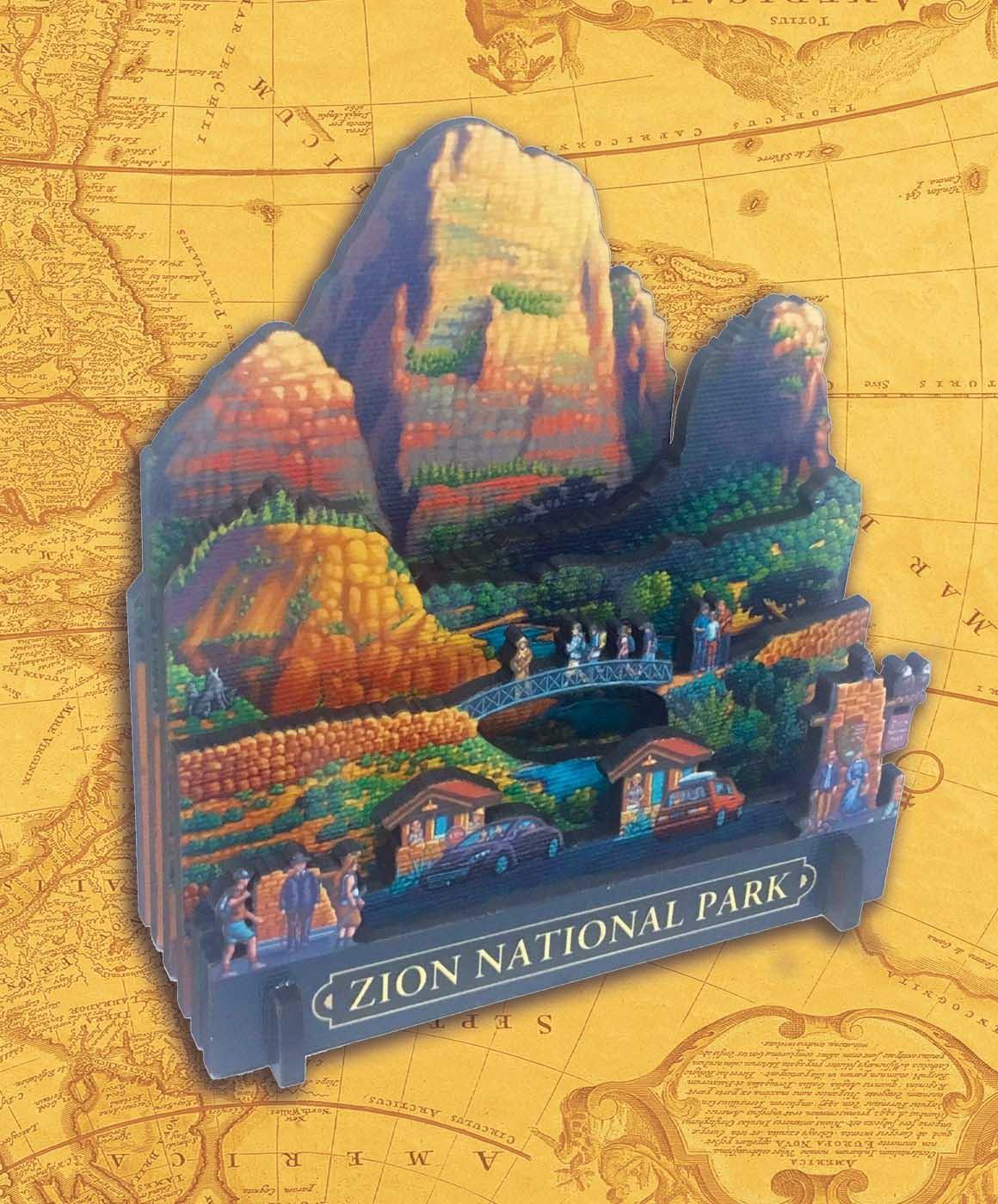 Zion National Park National Parks 3D Puzzle