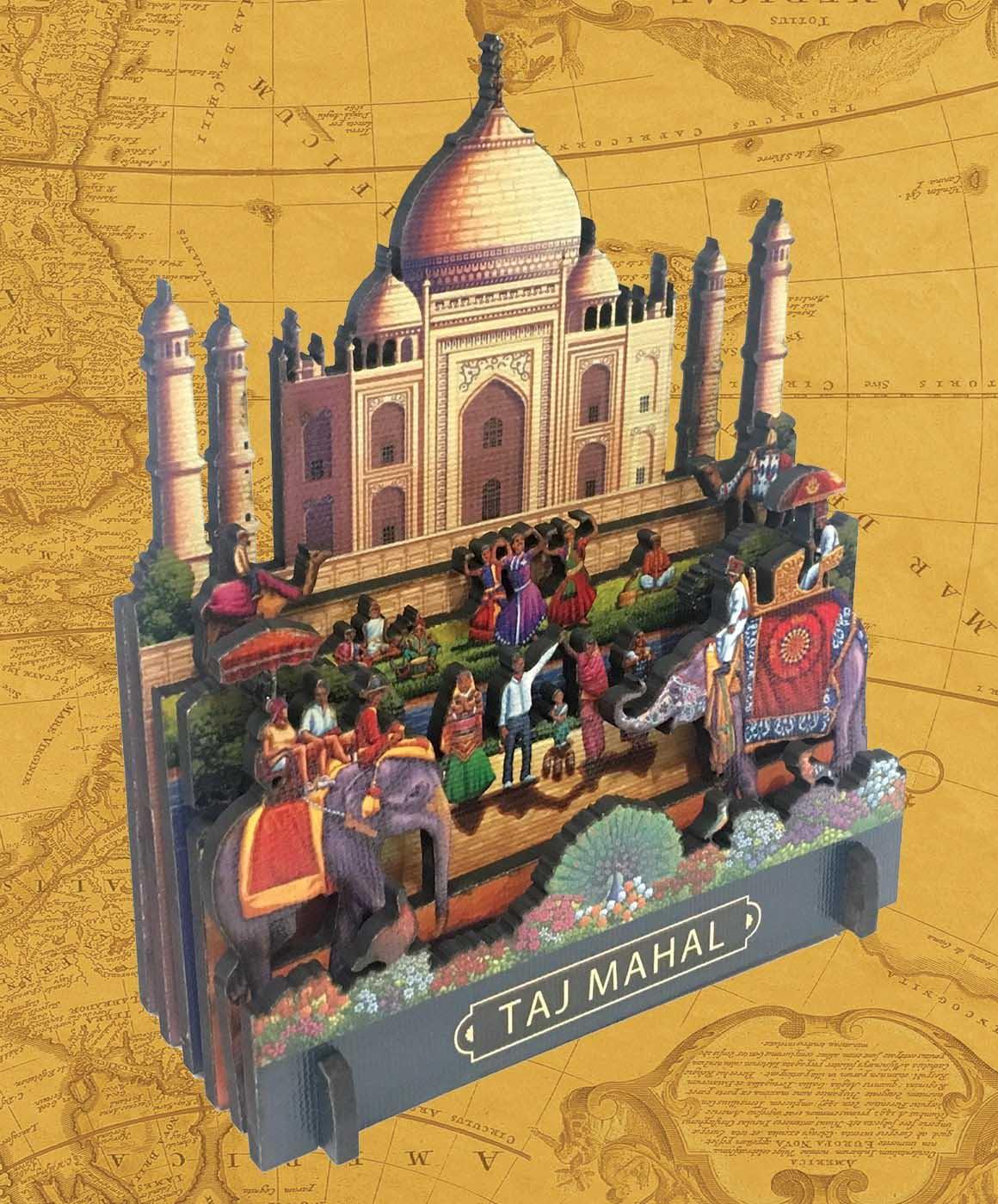 Taj Mahal Taj Mahal 3D Puzzle