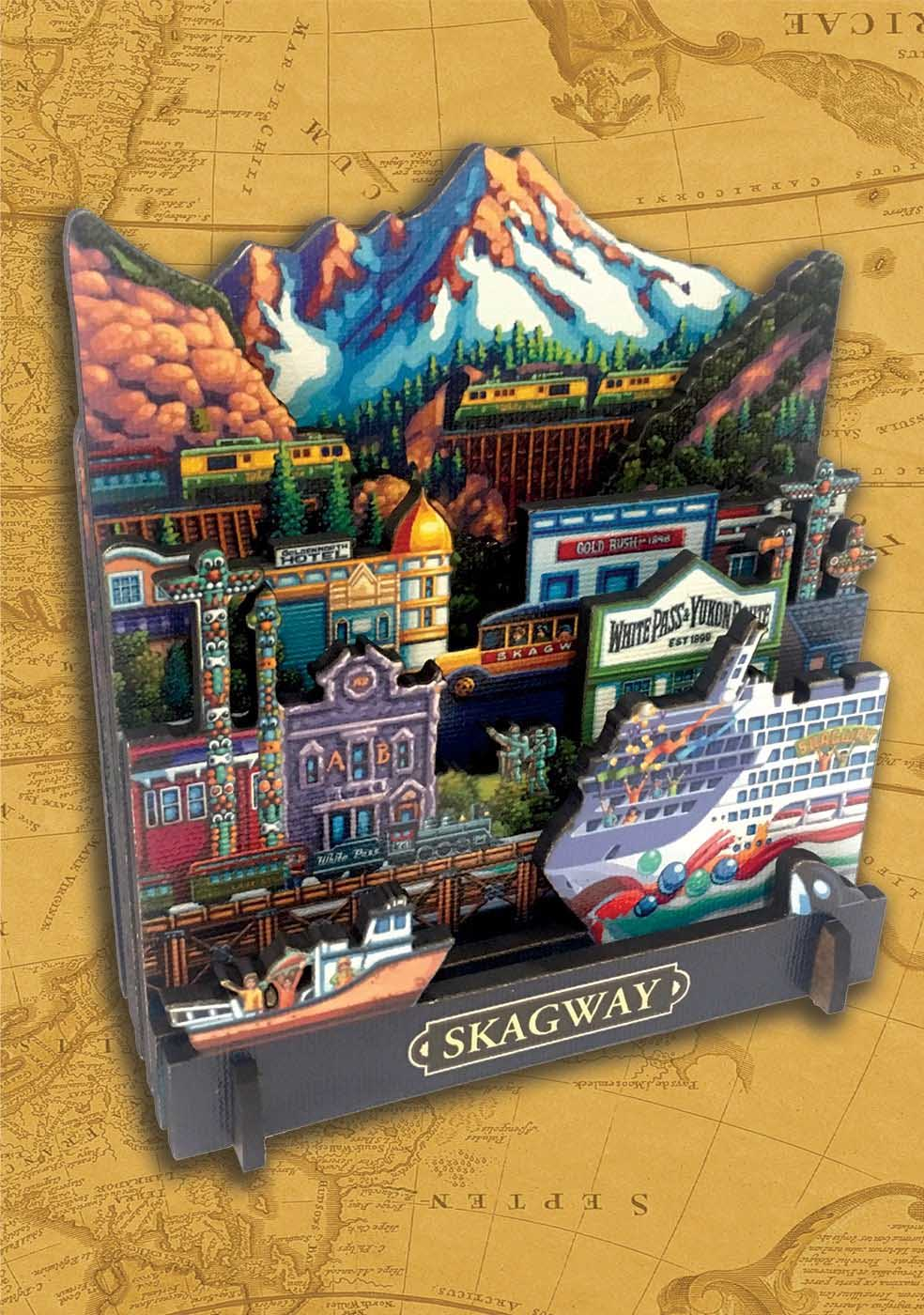 Skagway Cities 3D Puzzle