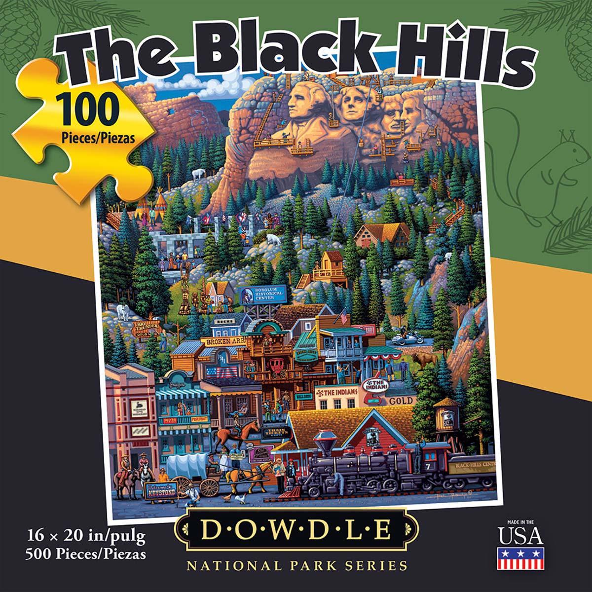 The Black Hills Landmarks / Monuments Jigsaw Puzzle