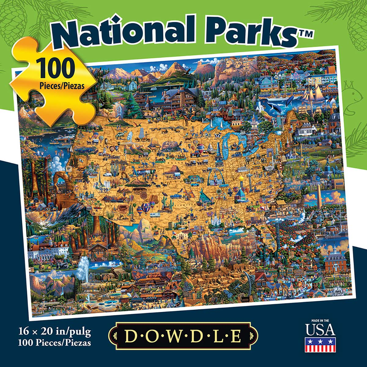 National Parks Father's Day Jigsaw Puzzle