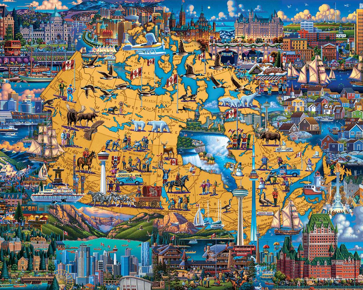 Best of Canada Americana & Folk Art Jigsaw Puzzle