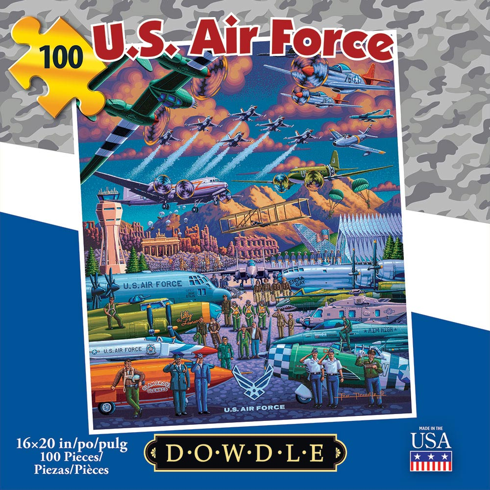 U.S. Air Force Americana & Folk Art Jigsaw Puzzle