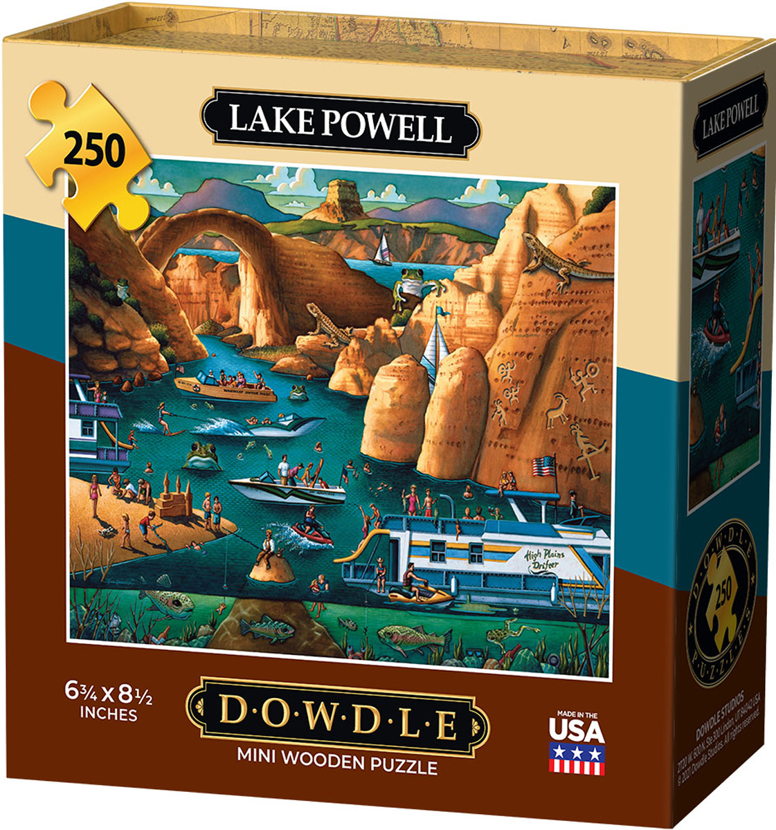 Lake Powell Lakes / Rivers / Streams Jigsaw Puzzle