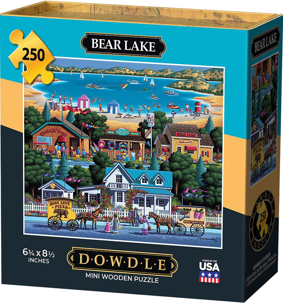 Bear Lake Lakes / Rivers / Streams Jigsaw Puzzle
