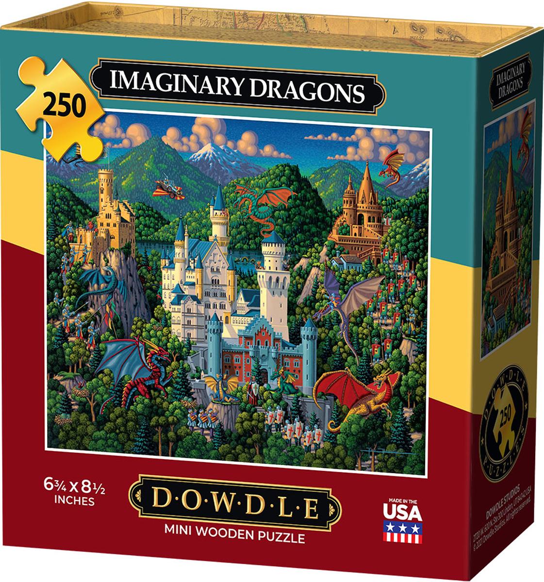 Imaginary Dragons Dragons Jigsaw Puzzle